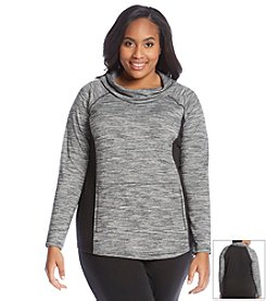 Jones New York Sport® Plus Size Space Dye Raglan Top