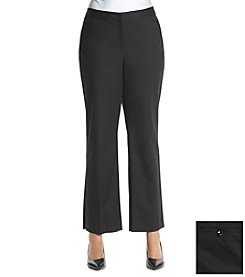Rafaella® Plus Size Double Weave Pants