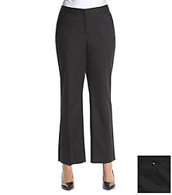 Rafaella® Plus Size Double Weave Pants