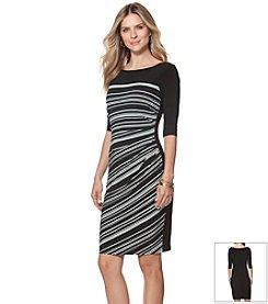 Chaps® Printed Jersey Dress
