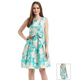 Jessica Howard® Belted Floral Dress