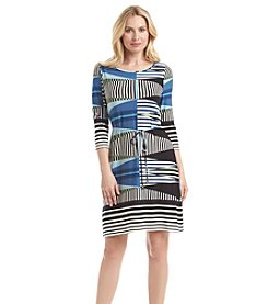 Ivanka Trump® Geo Print Dress