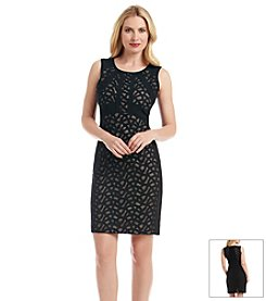 Ivanka Trump® Lace Knit Sheath Dress