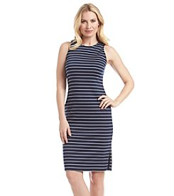 Marc New York Striped Tank Sheath Dress