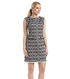 Calvin Klein A-Line Printed Dress