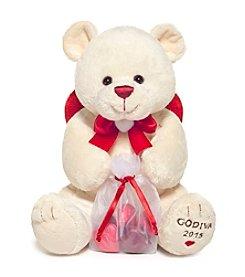 Godiva® Plush Bear With Chocolate Hearts
