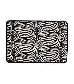 Rampage® Zebra Memory Foam Bathmat