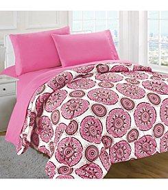 Rampage® Medici Pink 5-pc. Comforter Set