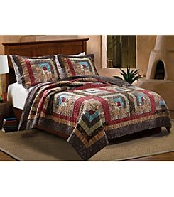 Greenland Home® Colorado Cabin 3-pc. Quilt Set