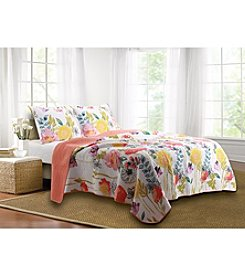 Greenland Home® Watercolor Dream 3-pc. Quilt Set