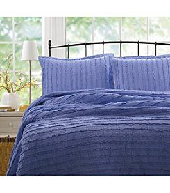Greenland Home® Ruffled 3-pc. Quilt Set