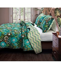 Greenland Home® Tiki Hut 3-pc. Quilt Set
