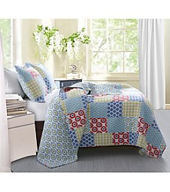 Greenland Home® Kendall 3-pc. Quilt Set