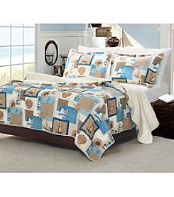 Greenland Home® Beachcomber 3-pc. Quilt Set