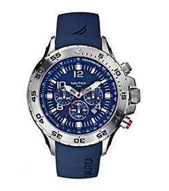 Nautica® Men's Blue Yachting Chronograph Watch