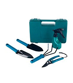 Stalwart 6-pc. Garden Tool Set with Carrying Case
