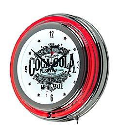 Coca-Cola® Brazil 1886 Vintage Neon Clock