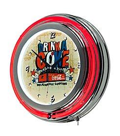 Coca-Cola® Brazil Drink a Coke Neon Clock