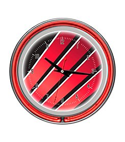 Trademark Home™ Honda Wing Chrome Double Ring Neon Clock