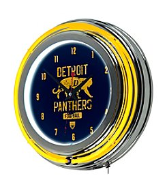 Trademark Home™ Detroit Panthers Neon Clock