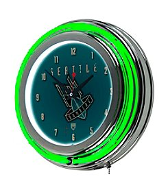 Trademark Home™ Seattle Bombers Neon Clock