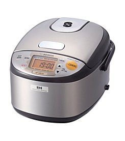 Zojirushi Induction Heating Pressure 3-Cup Rice Cooker & Warmer