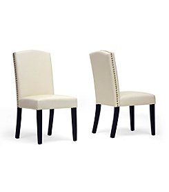 Baxton Studios Trullinger Set of 2 Modern Dining Chairs