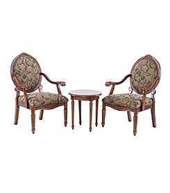 Madison Park Brentwood Set of 2 Chairs and 1 Table