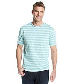 Paradise Collection® Men's Short Sleeve Stripe Crew