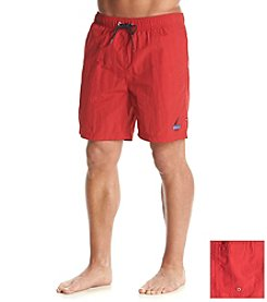 Nautica® Men's Solid Nylon Trunk