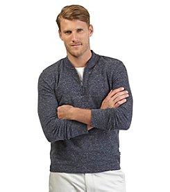 Nautica® Men's Long Sleeve Solid 1/4 Zip Henley