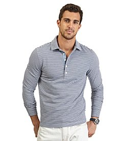Nautica® Men's Long Sleeve Striped Polo