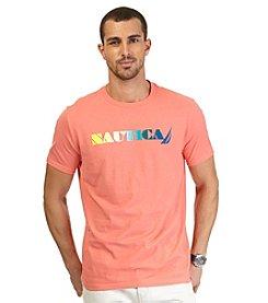 Nautica® Men's Short Sleeve Ombre Crew