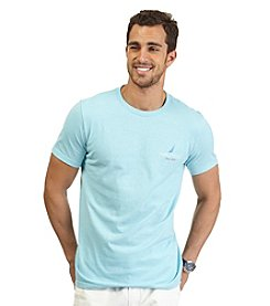 Nautica® Men's Short Sleeve Rainbow Fish Crew