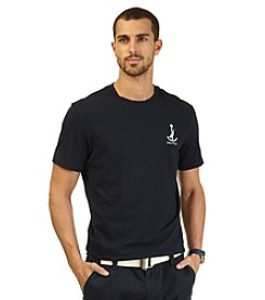 Nautica® Men's Short Sleeve Anchor Crew