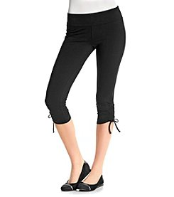 Marc New York Performance Cropped Side Tie Leggings