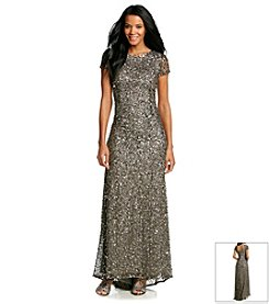 Adrianna Papell® Long Beaded Gown