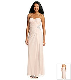 Xscape Side Beaded Gown