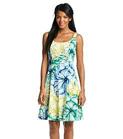 Nine West® Watercolor Floral Dress