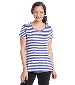 Columbia Scoop Neck Slub Tee