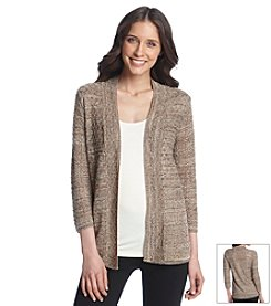 Notations® Multi Stitch Cardigan