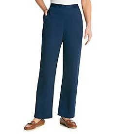 Alfred Dunner® Bon Voyage Solid Pull On Pants