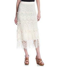 Chelsea & Theodore® Crochet Midi Skirt