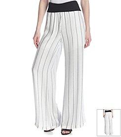 Bobeau Pinstripe Woven Pants