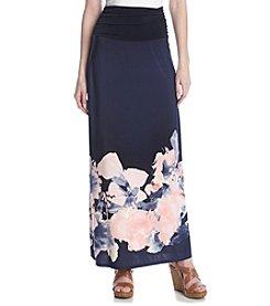 AGB® Print Maxi Skirt