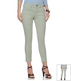 Chaps® Soft Twill Capri Pants