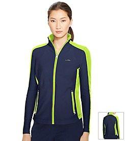 Lauren Active® Color-Blocked Full-Zip Jacket
