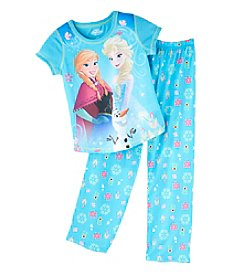 Disney® Girls' 4-8 Frozen's Anna, Elsa And Olaf Set