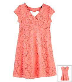 Jessica Simpson Girls' 7-16 Kaitlee Flair Dress