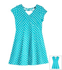 Jessica Simpson Girls' 7-16 Quirky Dot Dress